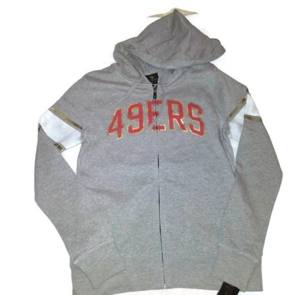 152ccda2f San Francisco 49ers Full Zip Up Hoodie Sweatshirt